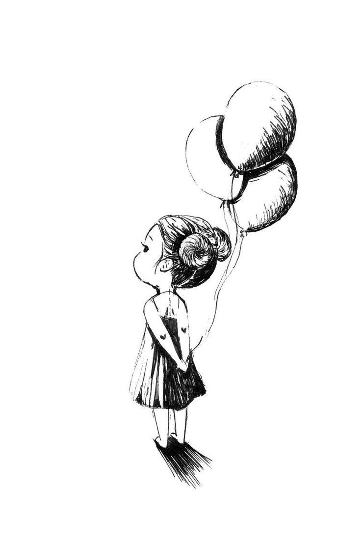Balloons Pic Drawing