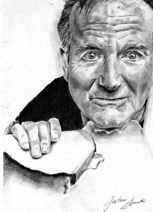 Robin Williams Drawing Art