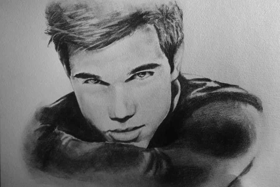 Taylor Lautner Drawing Creative Art
