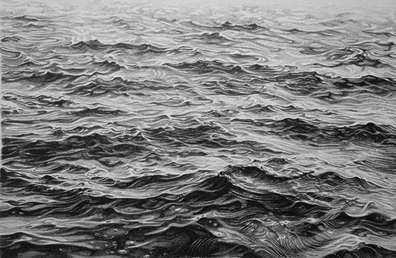 Ocean Drawing Sketch