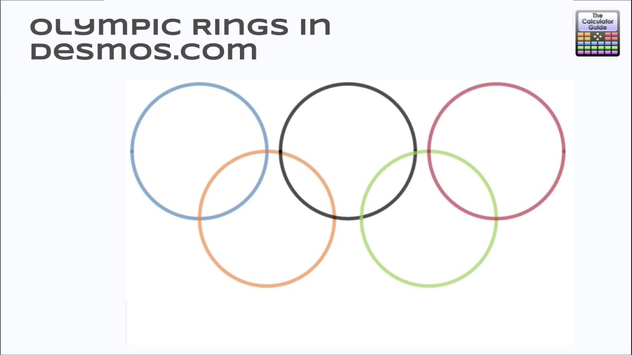 Olympic Rings Image Drawing