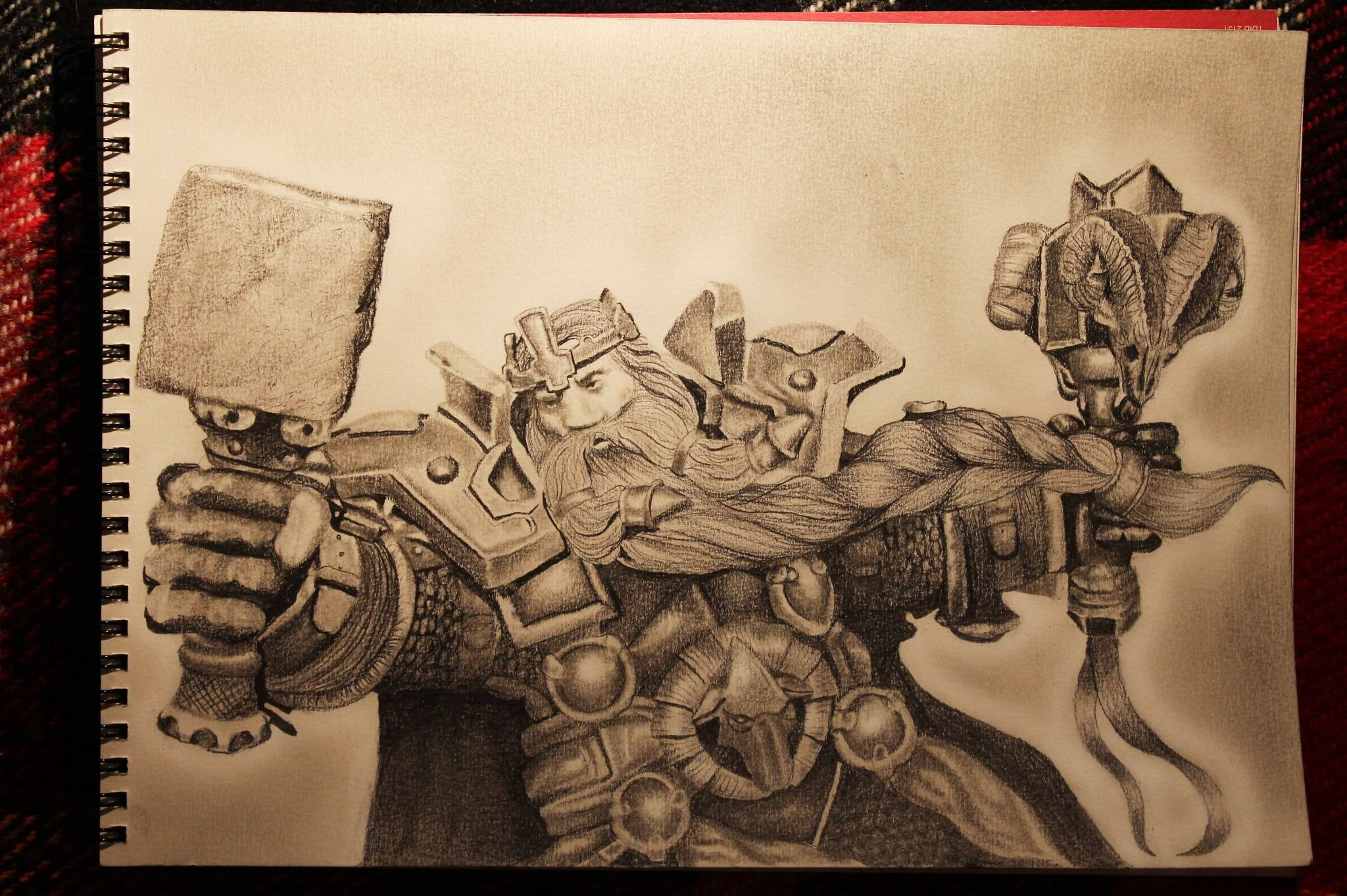 Warcraft Drawing Photo