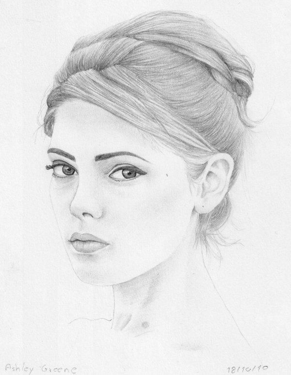 Ashley Greene Drawing Pic