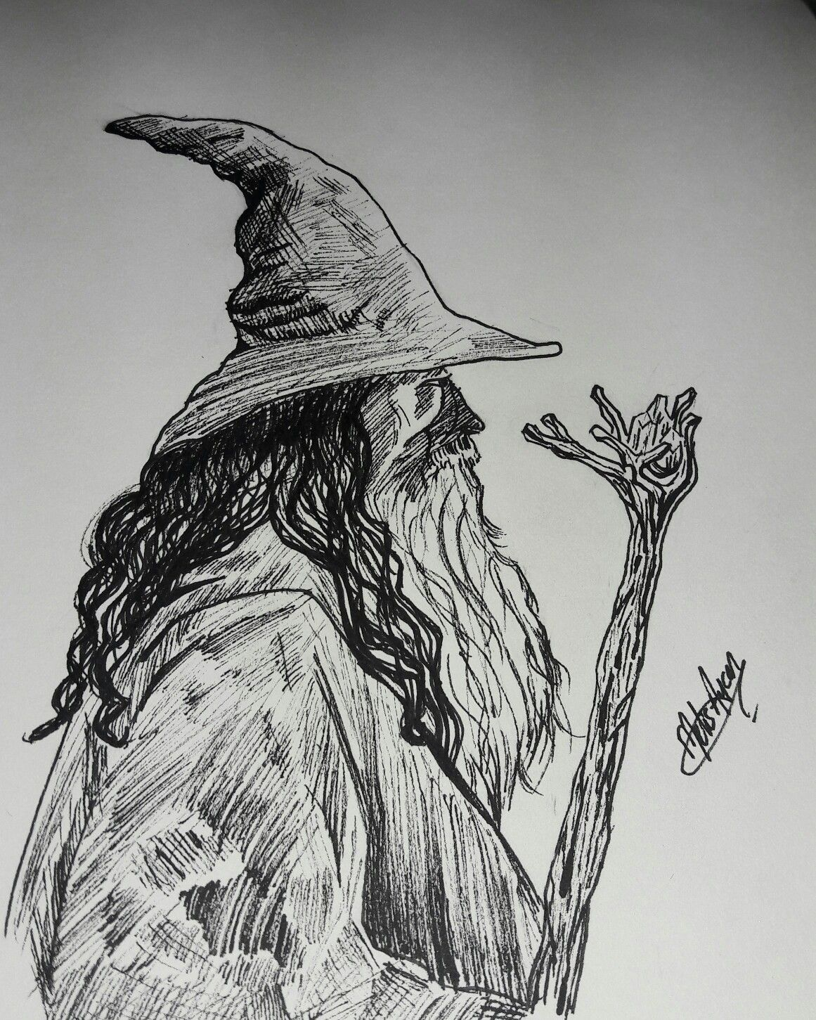 Gandalf Drawing Best