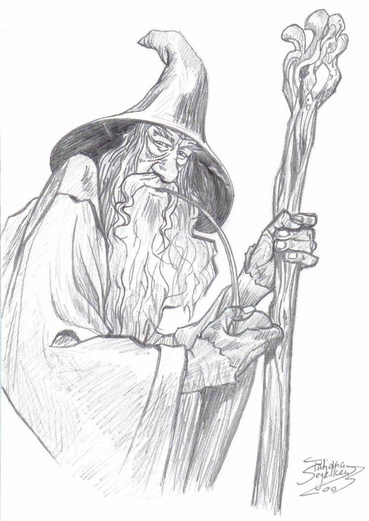 Gandalf Drawing Image