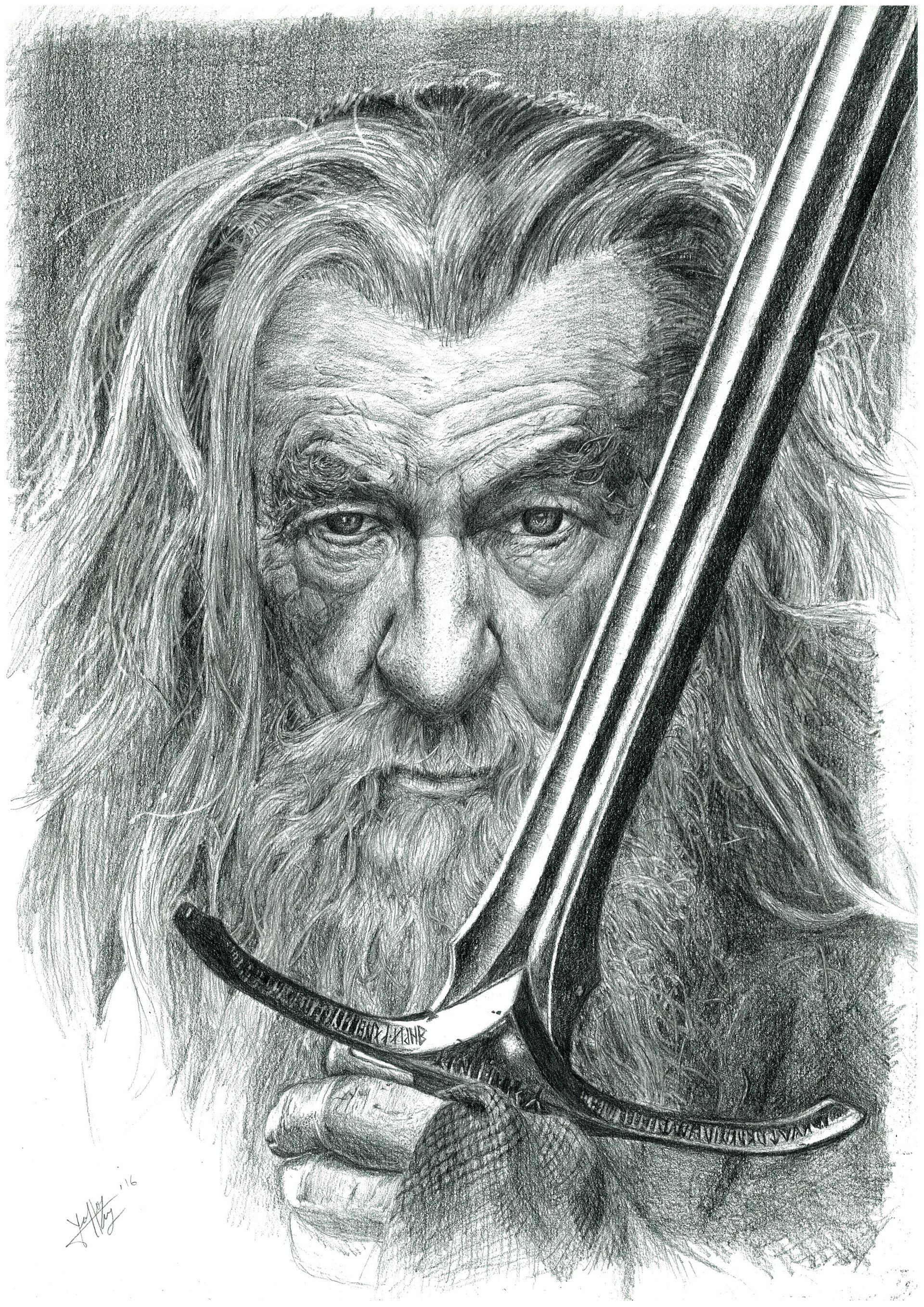 Gandalf Drawing Photos