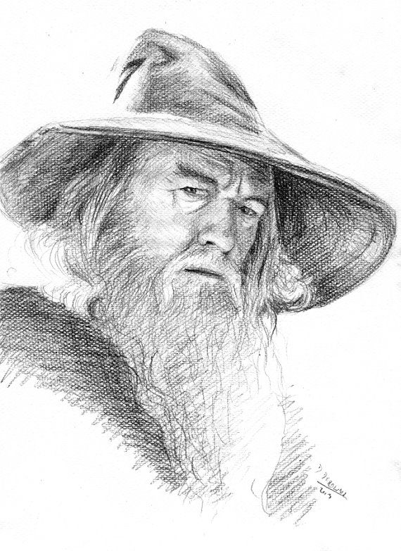 Gandalf Drawing Pic