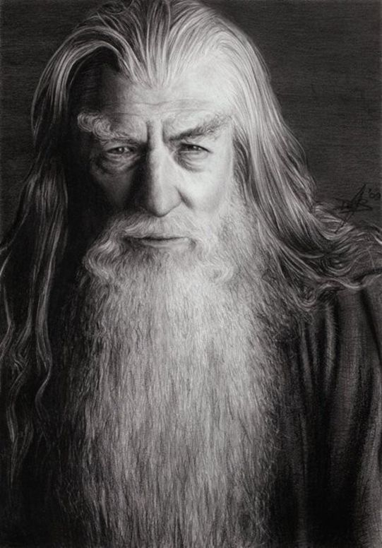 Gandalf Drawing Pics