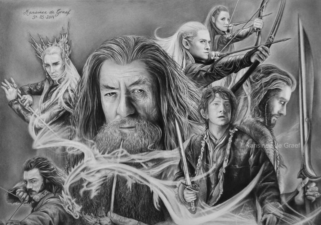 The Lord of The Rings Drawing Pic