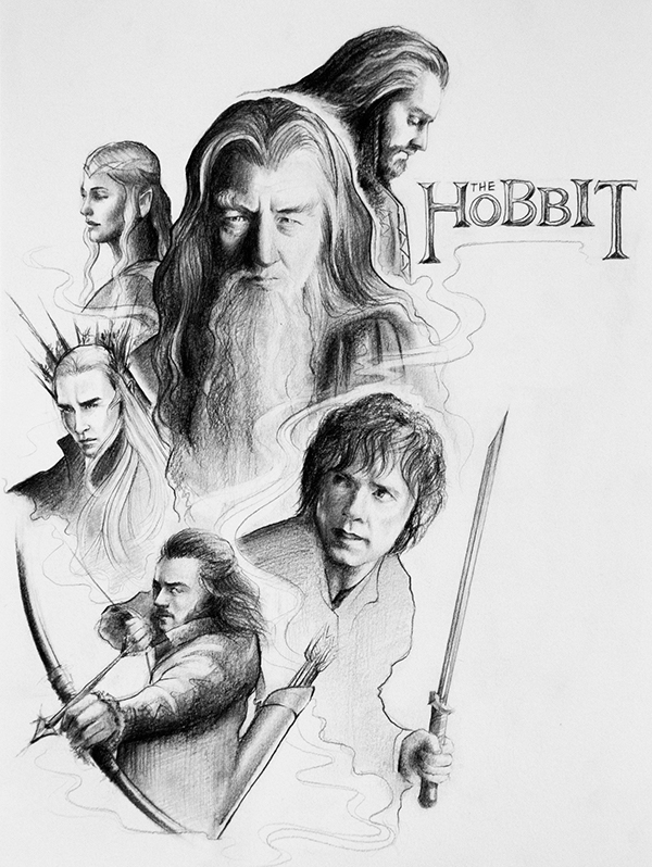 The Lord of The Rings Drawing Pics