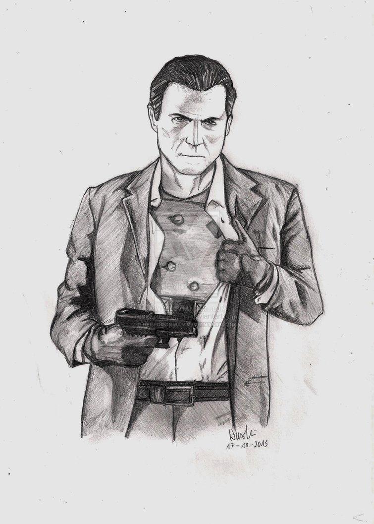 Michael De Santa Drawing Beautiful Image