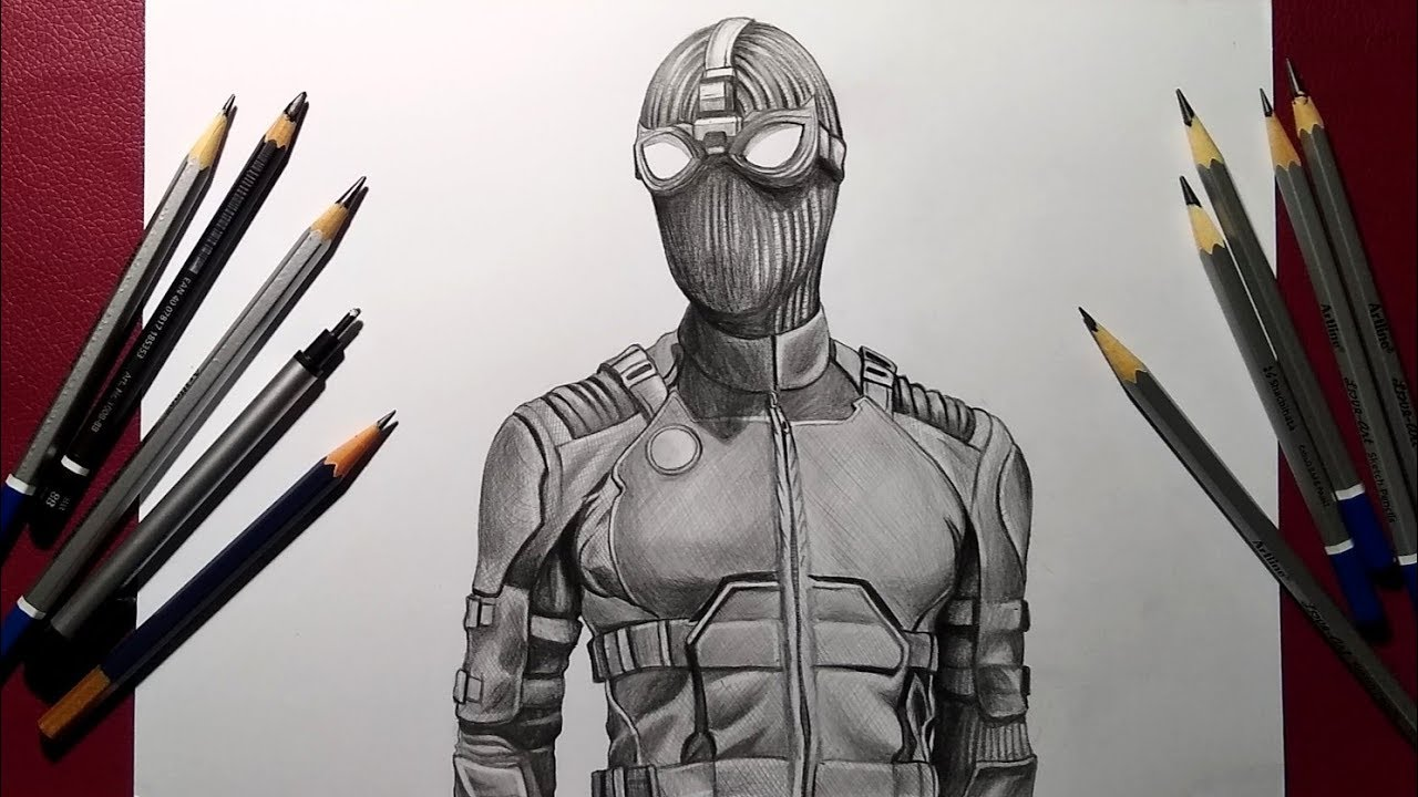 Spider-Man Far From Home Drawing Photo