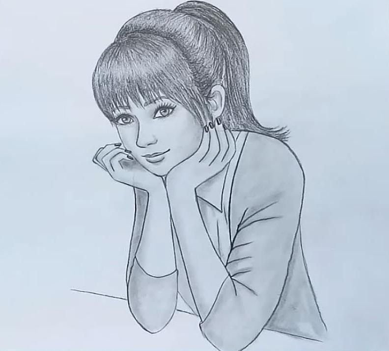 Beautiful Sketch Drawing Picture