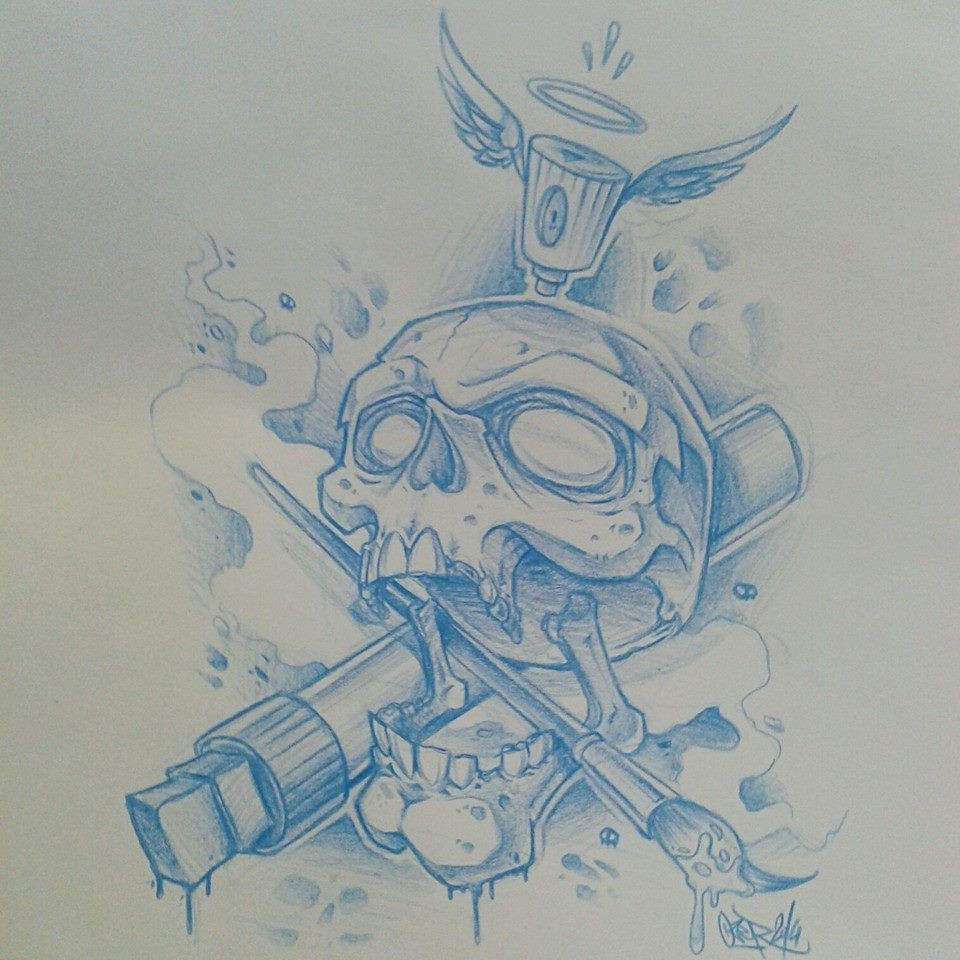 Graffiti Tattoo Drawing Picture