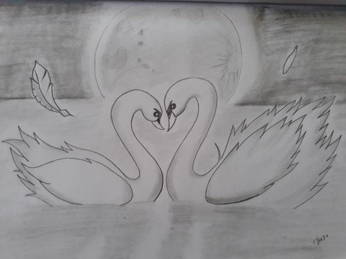 Love Sketch Drawing High-Quality
