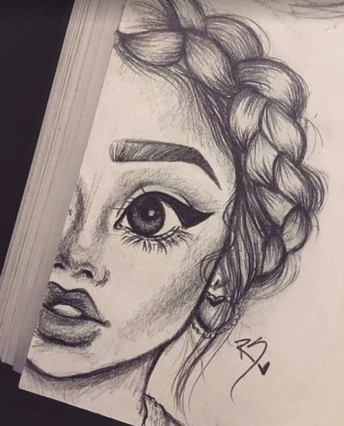 Sketch Face Drawing Pics