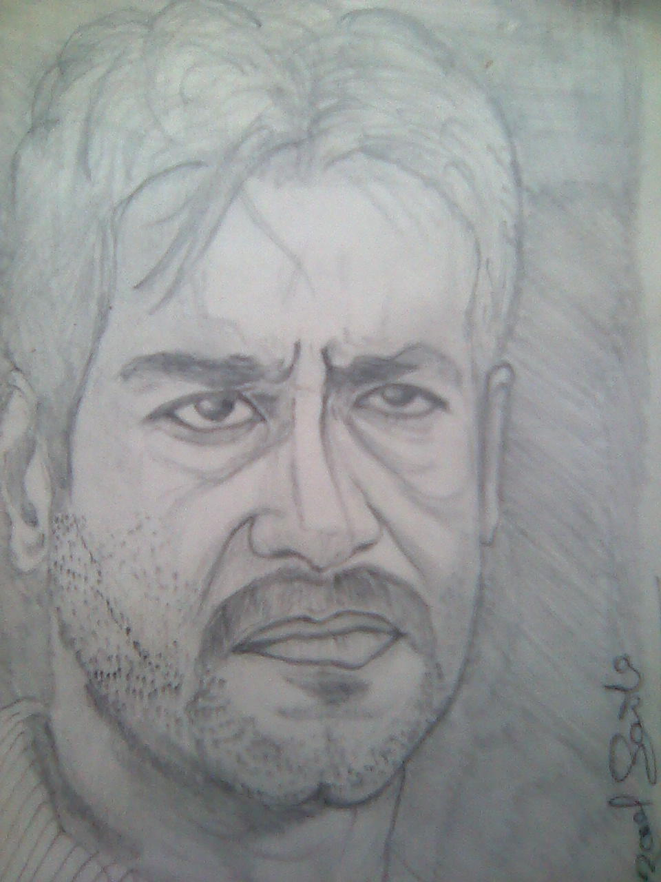 Ajay Devgn Drawing Picture