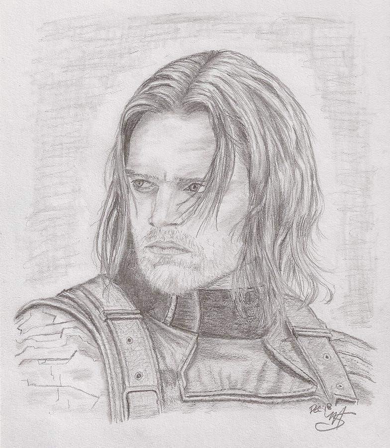 Bucky Barnes Drawing Pics