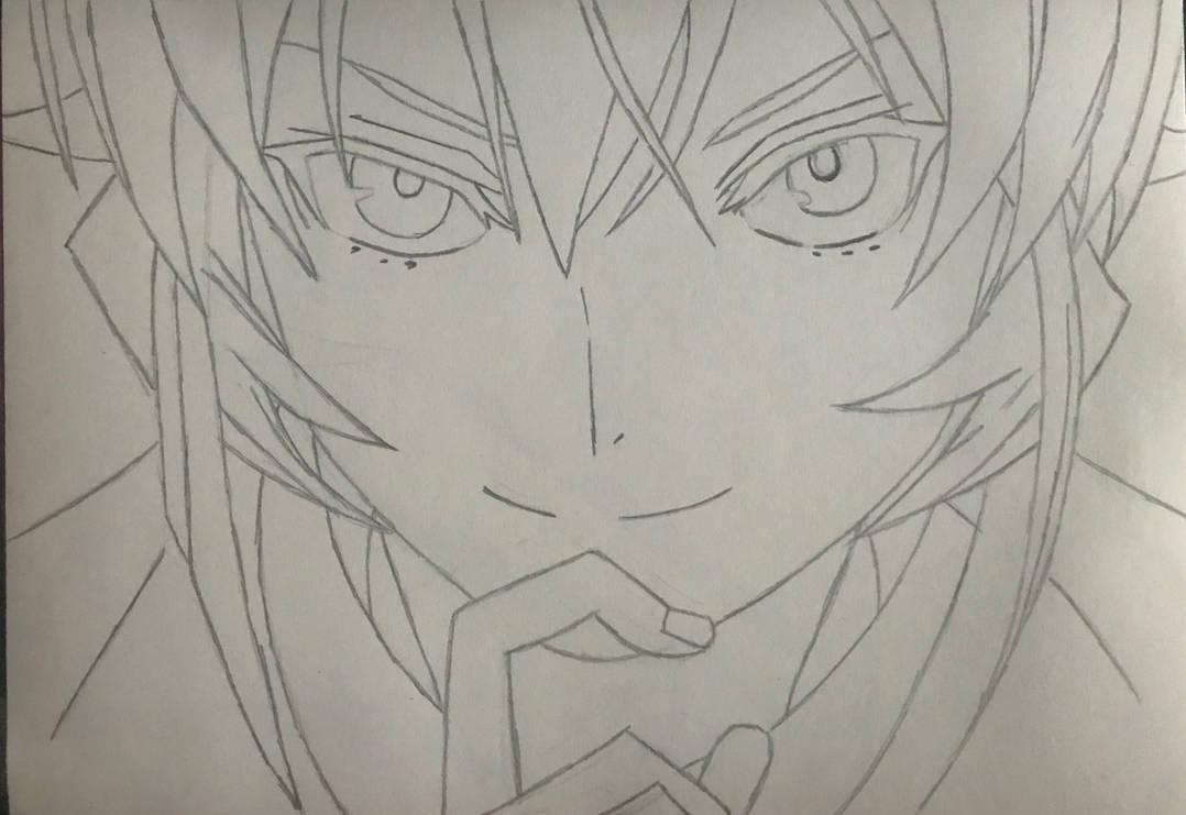 Erina Nakiri Drawing Pic