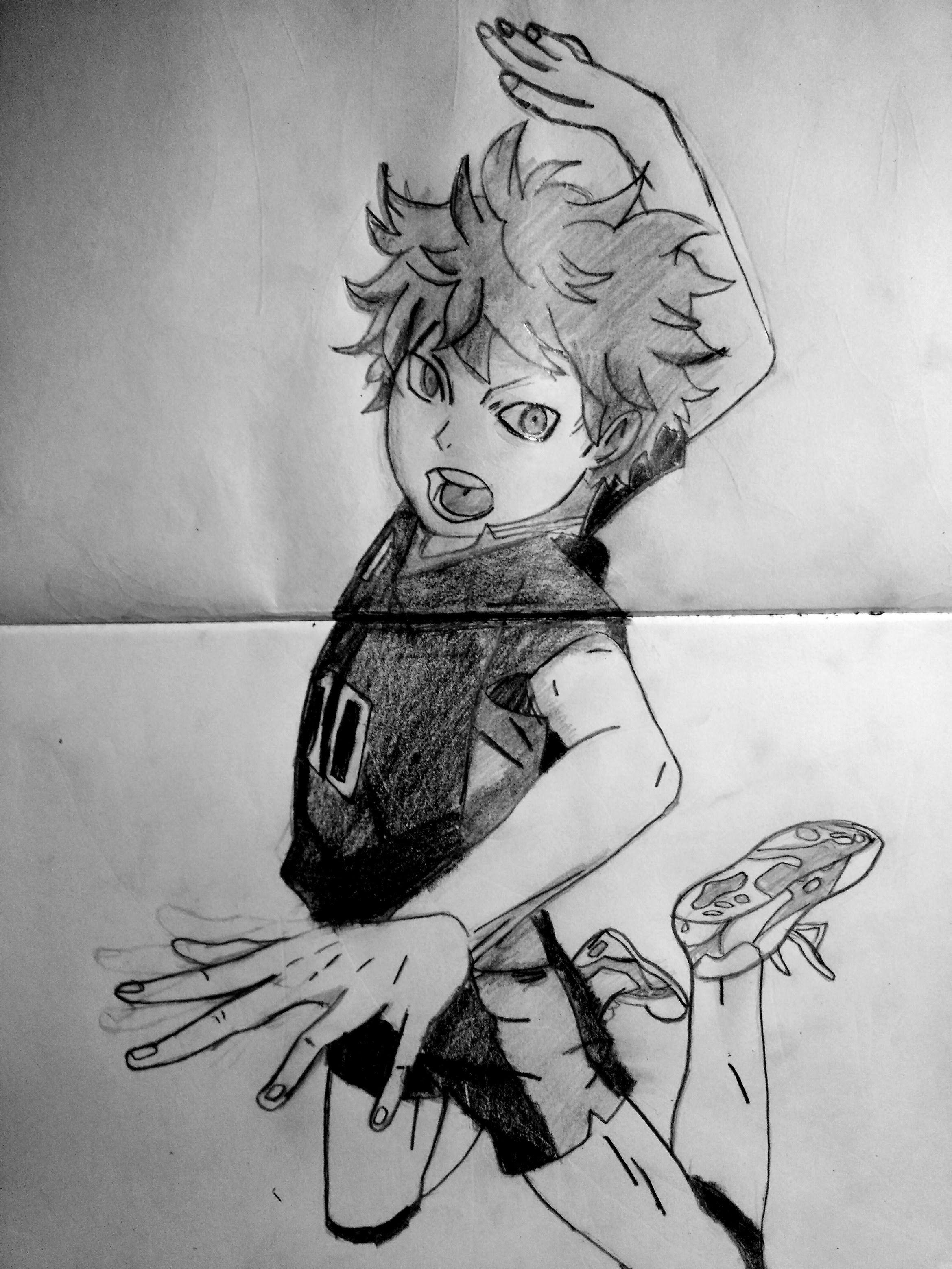 Hinata Shoyo Drawing Best